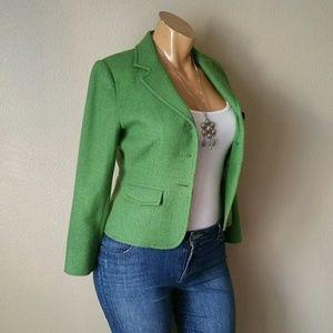 Harolds Green Wool Blazer
